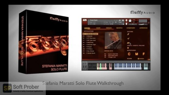 Stefania Maratti Solo Flute By Fluffy Audio 2021 Direct Link Download-Softprober.com