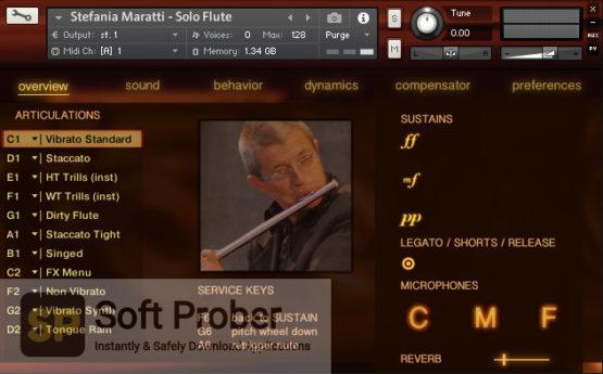 Stefania Maratti Solo Flute By Fluffy Audio 2021 Latest Version Download-Softprober.com