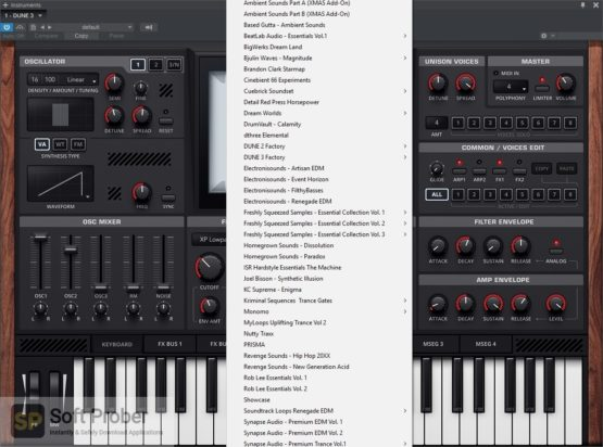 Synapse Audio DUNE 2021 Latest Version Download-Softprober.com