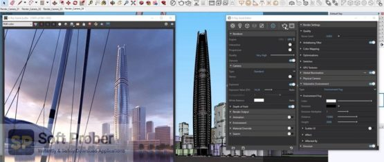 V Ray Next 5.x for 3ds Max Maya Revit & Other 2021 Latest Version Download-Softprober.com