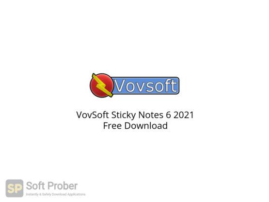 VovSoft Sticky Notes 6 2021 Free Download-Softprober.com