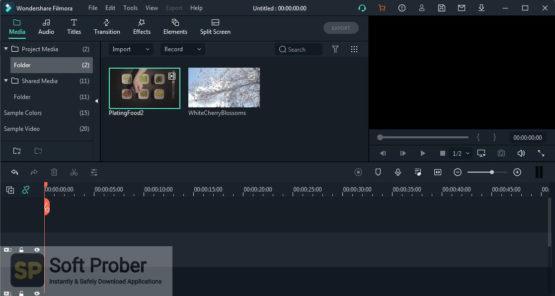Wondershare Filmora X v10 2021 Portable Offline Installer Download-Softprober.com