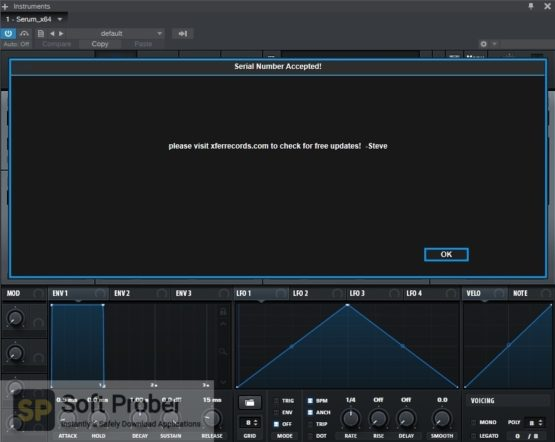 Xfer Records Serum 2021 Offline Installer Download-Softprober.com