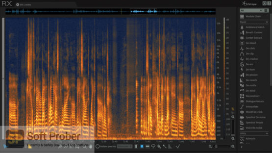 iZotope RX 6 Audio Editor Advanced 2021 Offline Installer Download-Softprober.com