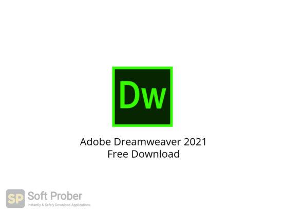 Adobe Dreamweaver 2021 Free Download-Softprober.com