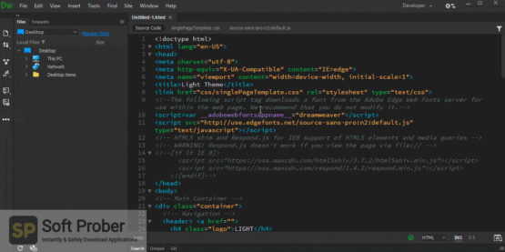 Adobe Dreamweaver 2021 Latest Version Download-Softprober.com