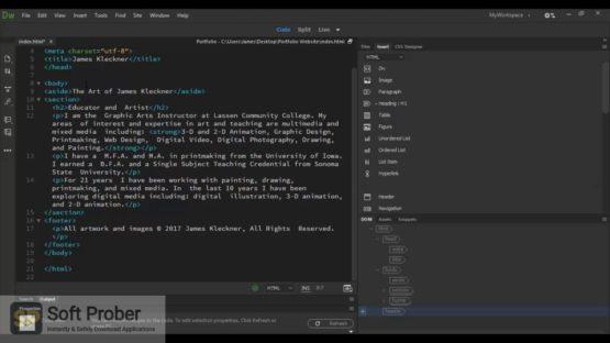Adobe Dreamweaver 2021 Offline Installer Download-Softprober.com