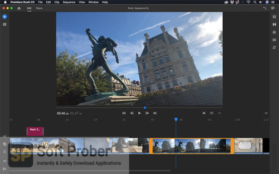 Adobe Premiere Rush 2021 Offline Installer Download-Softprober.com