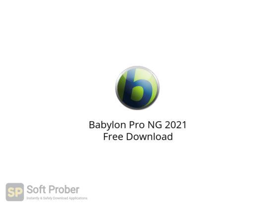 Babylon Pro NG 2021 Free Download-Softprober.com