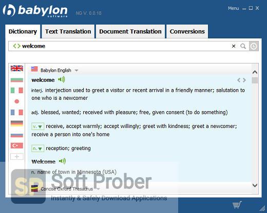 Babylon Pro NG 2021 Latest Version Download-Softprober.com