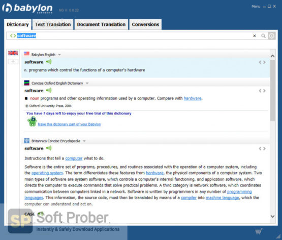 Babylon Pro NG 2021 Offline Installer Download-Softprober.com