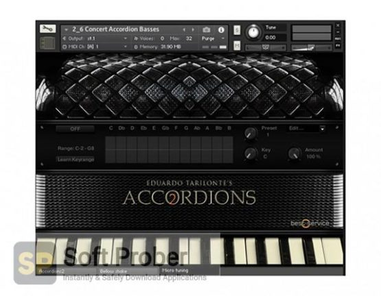 Best Service Accordions 2 (KONTAKT) 2020 Latest Version Download-Softprober.com