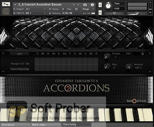 Best Service Accordions 2 (KONTAKT) 2020 Offline Installer Download-Softprober.com