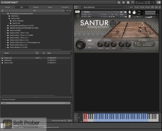 Cinematique Instruments Santur 2021 Direct Link Download-Softprober.com