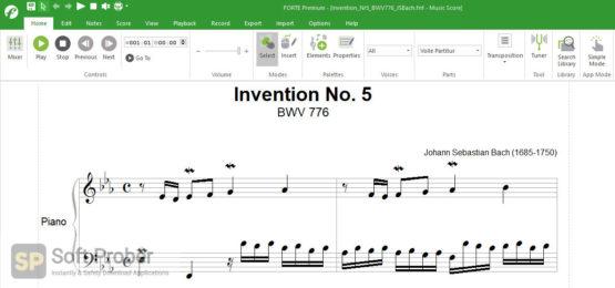 FORTE Notation 12 2021 Latest Version DownloadScreenClip_F9EN Softprober.com