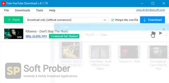 Free YouTube Download 2021 Offline Installer Download-Softprober.com