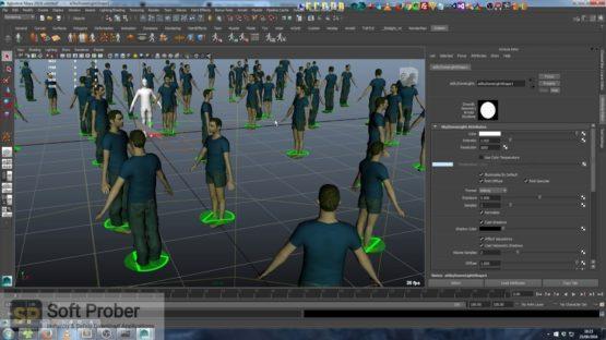 Golaem Crowd for Maya 2021 Offline Installer Download-Softprober.com