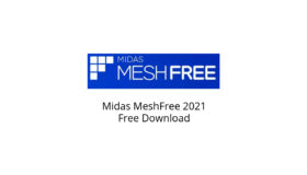 Midas MeshFree 2021 Free Download