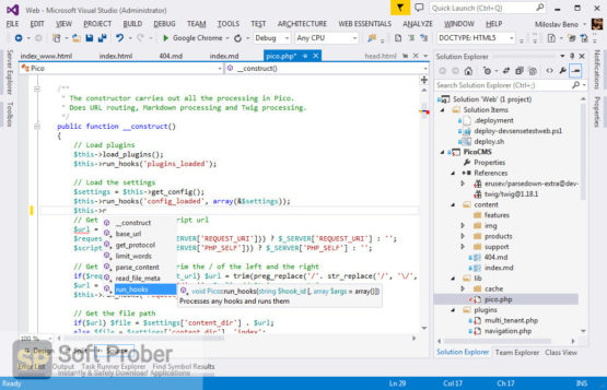 PHP Tools for Visual Studio 2021 Offline Installer Download-Softprober.com