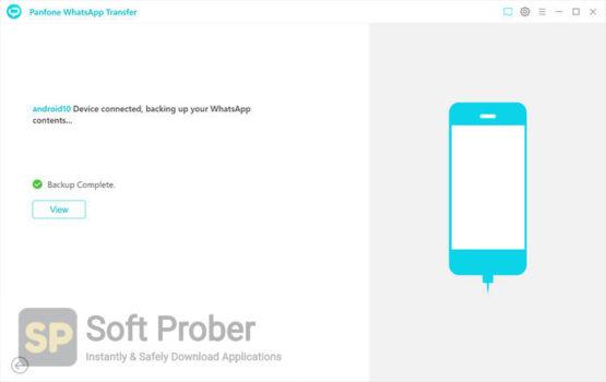 PanFone WhatsApp Transfer 2021 Latest Version Download-Softprober.com