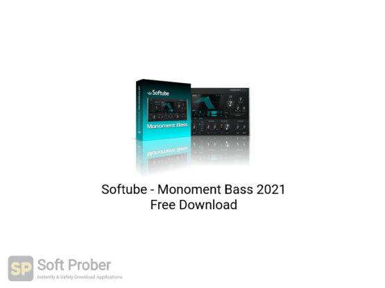 Softube Monoment Bass 2021 Free Download-Softprober.com