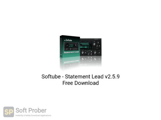 Softube Statement Lead v2.5.9 Free Download-Softprober.com