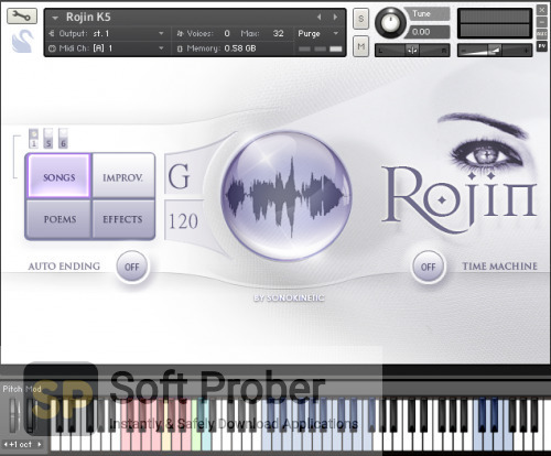 Sonokinetic Rojin 1.2: Kurdish Female Vocals Offline Installer Download-Softprober.com