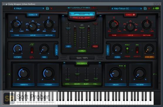 StudioLinked VST Urban Redline Synthesizer v1.0 Latest Version Download-Softprober.com