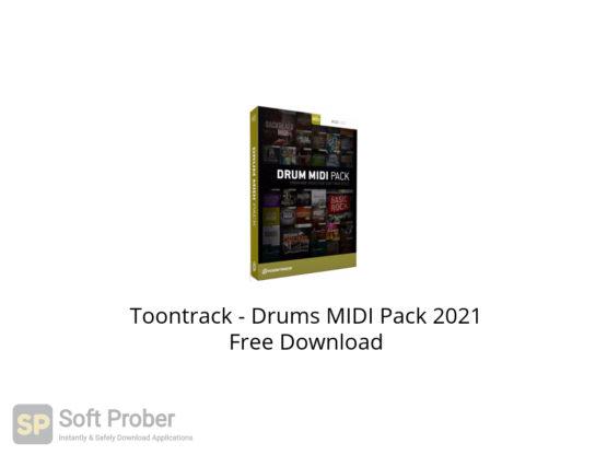 Toontrack Drums MIDI Pack 2021 Free Download-Softprober.com