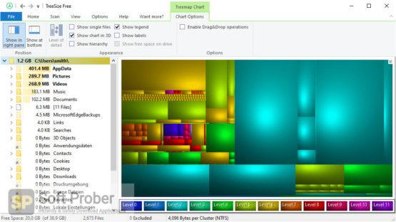 TreeSize Professional 2021 Direct Link Download-Softprober.com
