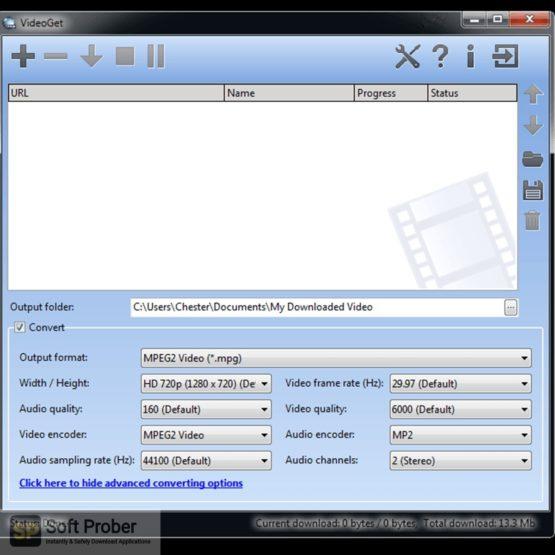 VideoGet YouTube Downloader 2021 Direct Link Download-Softprober.com