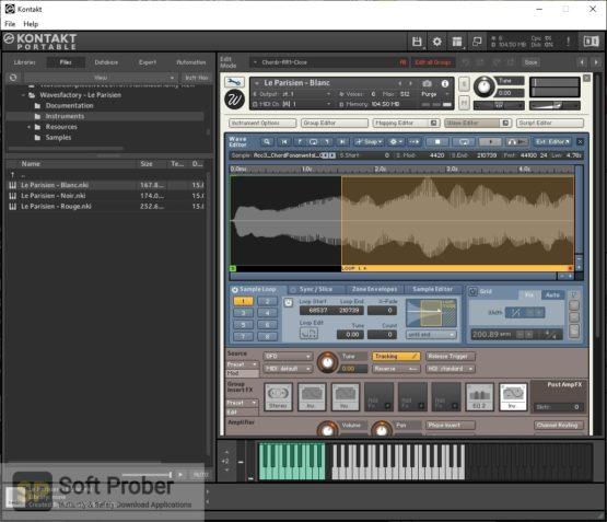 Wavesfactory Le Parisien (KONTAKT) 2021 Direct Link Download-Softprober.com