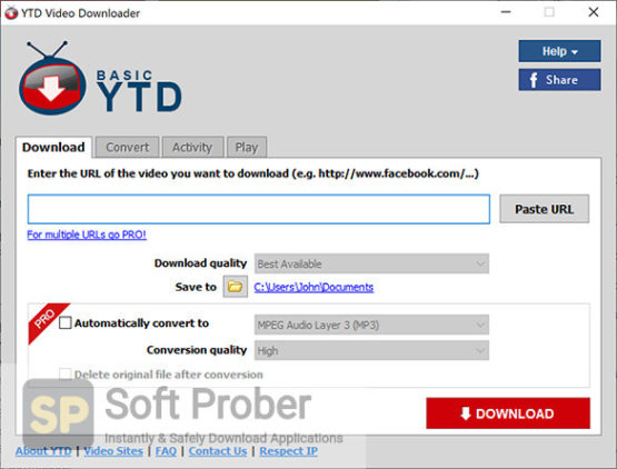 YT Downloader 2021 Direct Link Download-Softprober.com