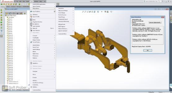 3DQuickPress for SOLIDWORKS 2021 Latest Version Download-Softprober.com