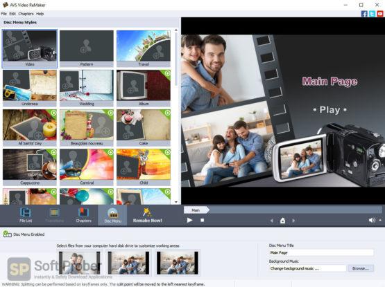 AVS Video ReMaker 2021 Direct Link Download-Softprober.com