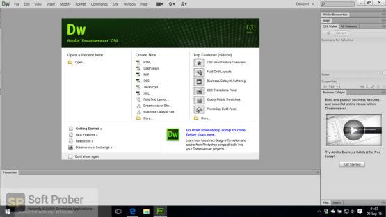 Adobe Dreamweaver CS6 Offline Installer Download-Softprober.com