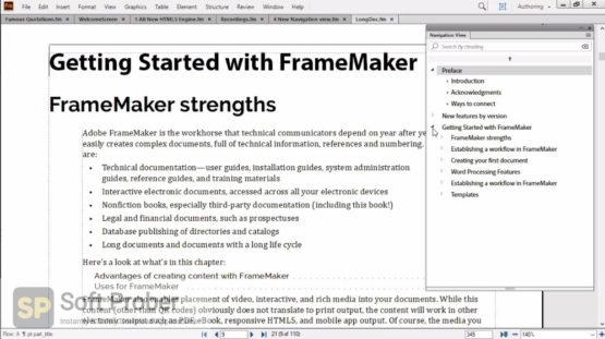Adobe FrameMaker 2020 Direct Link Download-Softprober.com