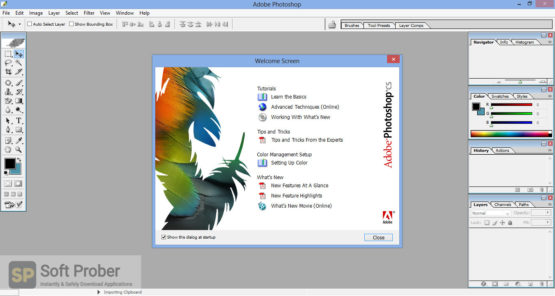 Adobe Photoshop CS8 Offline Installer Download-Softprober.com
