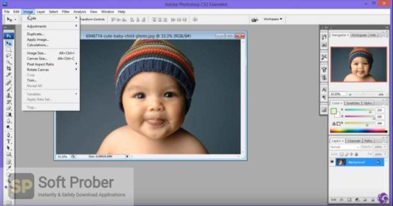 Adobe Photoshop CS3 Extended Latest Version Download-Softprober.com