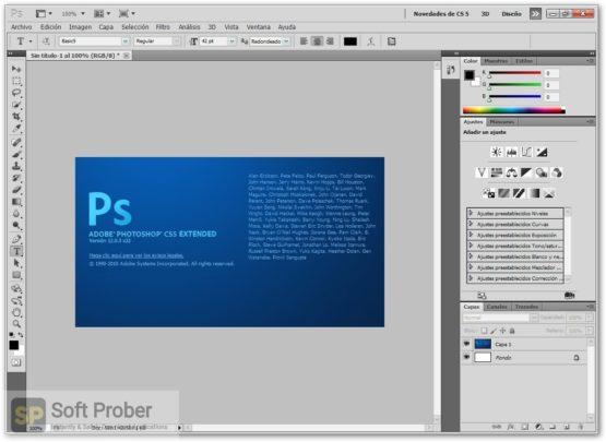 Adobe Photoshop CS5 Offline Installer Download-Softprober.com