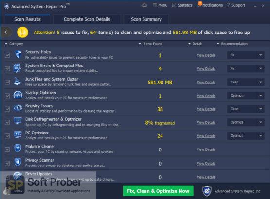 Advanced System Repair Pro 2021 Latest Version Download-Softprober.com