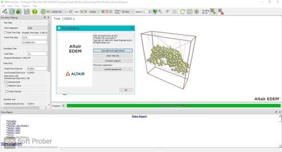 Altair EDEM Professional 2021 Offline Installer Download-Softprober.com