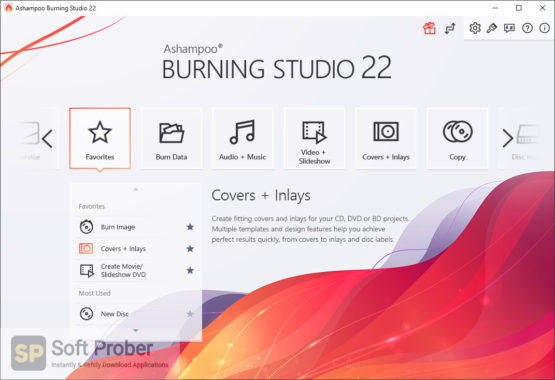 Ashampoo Burning Studio 2021 Latest Version Download-Softprober.com