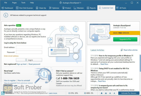 Auslogics BoostSpeed 2021 Direct Link Download-Softprober.com