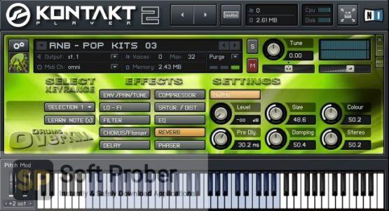 Best Service Drums Overkill (KONTAKT) 2021 Direct Link Download-Softprober.com