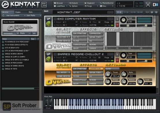 Best Service Drums Overkill (KONTAKT) 2021 Offline Installer Download-Softprober.com