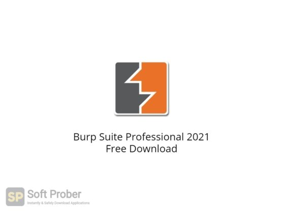 Burp Suite Professional 2021 Free Download-Softprober.com