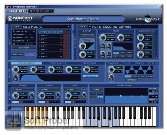 East West Quantum Leap Symphonic Choirs Latest Version Download-Softprober.com