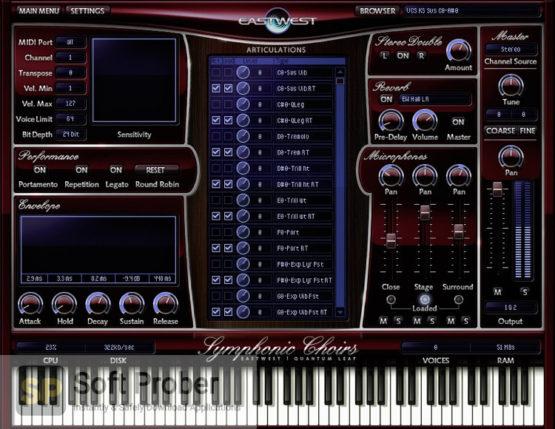 East West Quantum Leap Symphonic Choirs Offline Installer Download-Softprober.com