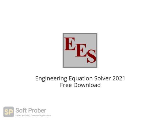 Engineering Equation Solver 2021 Free Download-Softprober.com